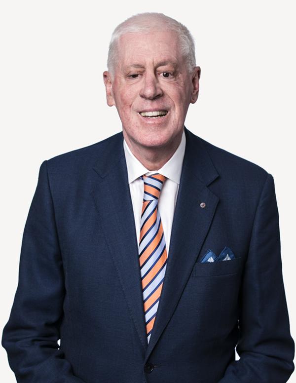 Board member Dr Graeme Innes, AM